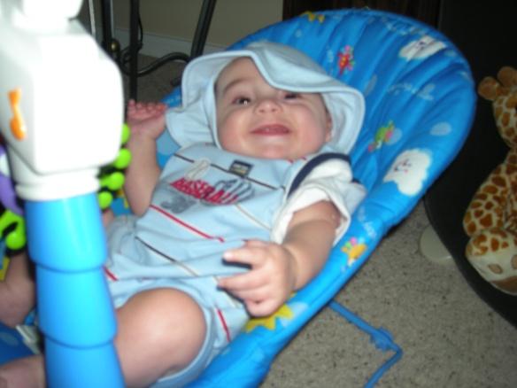 Baby Blue Smiles