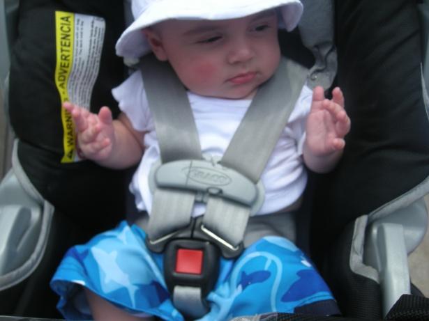 Baby Joe Pesci Goes to the Pool