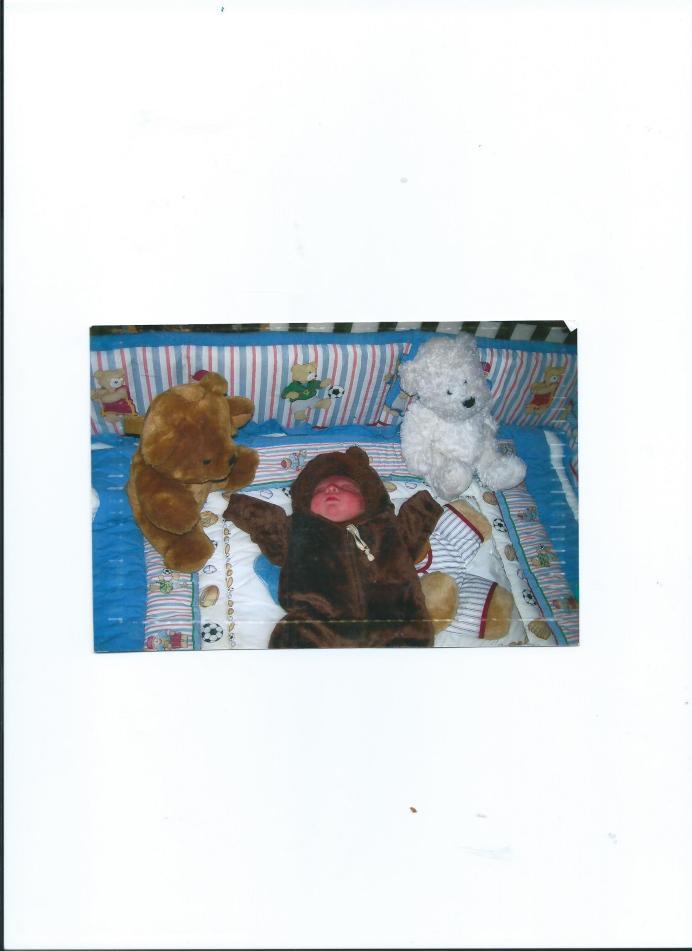 JULIAN.BABY BEAR WITH MOMMY.NEWBORN 001
