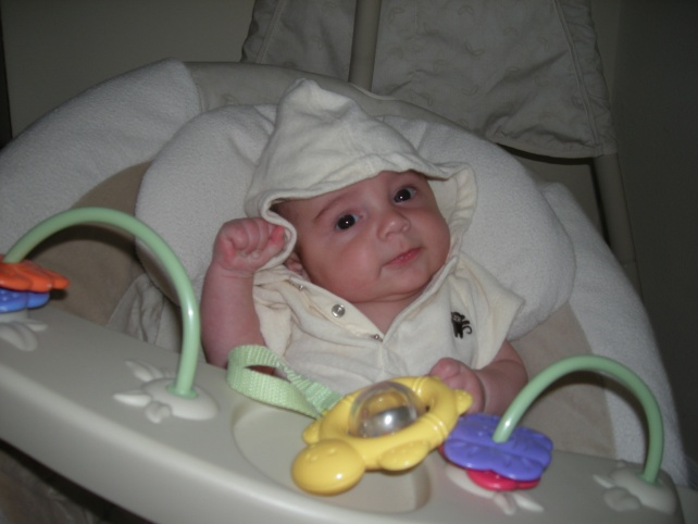 My little Monkey in a swing