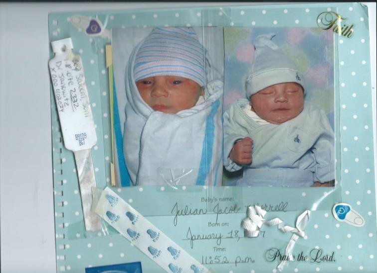 BABY JULIAN.NEWBORN IN THE HOSPITAL 001