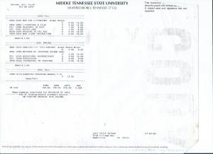 College Transcripts from Bryn Mawr, Vanderbilt, and MTSU 002