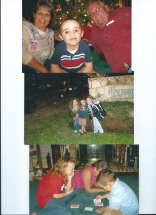 DEE, JOHN, JULIAN WORRELL-SALOOM, STEP-COUSIN MAKAYLA AND MCKENZIE.DEC.16, 2011 001