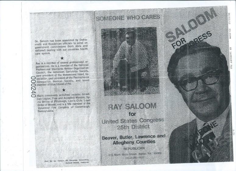 DR. Raymond Jacob Saloom, Sr., Your Great-Grandpa, Mummy's Beloved Puppup 001