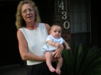 Grandma Suzi with Baby Julian 2007