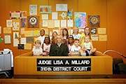 Judge Lisa Millard.pic with children