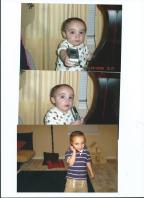 You learned to speak so well when you were so little. You always wanted to practice on the telephone. Mommy's friends and Grandma Sue said how gifted you were, already. Some people couldn't understand why Mommy never had time to talk on the phone, or even to answer the phone, when we were together. We were always together. You were always more important, and I couldn't and never wanted to leave you for a second. I was too scared someone might kidnap you. And they did. I love you.