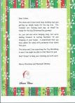 LETTER FROM SANTA AT THE NORTH POLE!