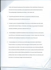 Motion to Claim and Exercise Constitutional Rights Page 2 of 5