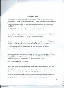 Motion to Claim and Exercise Constitutional Rights Page 4 of 5