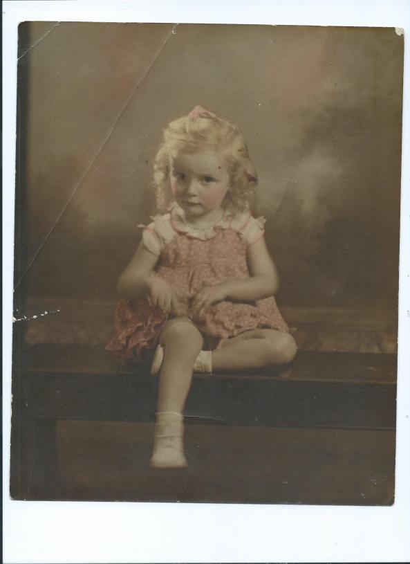 Nancy Ann Boosel Gilliland.3yrs. old