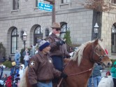 Pappy Riding in the Posse Parade