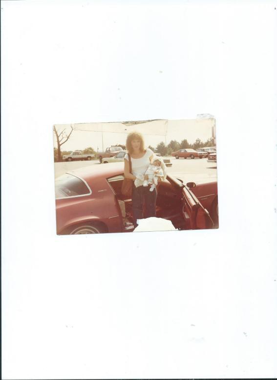 Sue Saloom and Baby Joni Faith Saloom.6 wks old 001