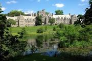 bryn mawr college.grand with fountain