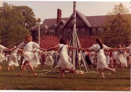 bryn mawr college.may day