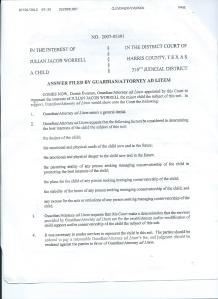 Probation termination papers