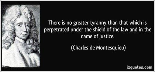 JUSTICE.LORD MONTESQUIEU QUOTE