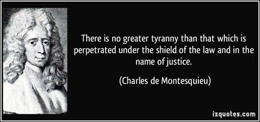 JUSTICE.LORD MONTESQUIEU QUOTE