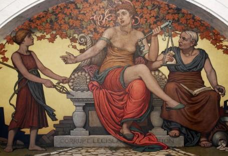 JUSTICE.CORRUPT LEGISLATURE.ROMAN CLASSIC ART