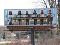 carver county corruption billboard