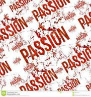 PASSION.WORD WALLPAPER.RED AND WHITE