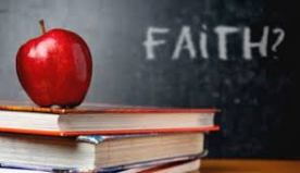 WORD WALL.FAITH.APPLE.SCHOOL