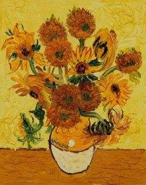Sunflowers. Van Gogh 2